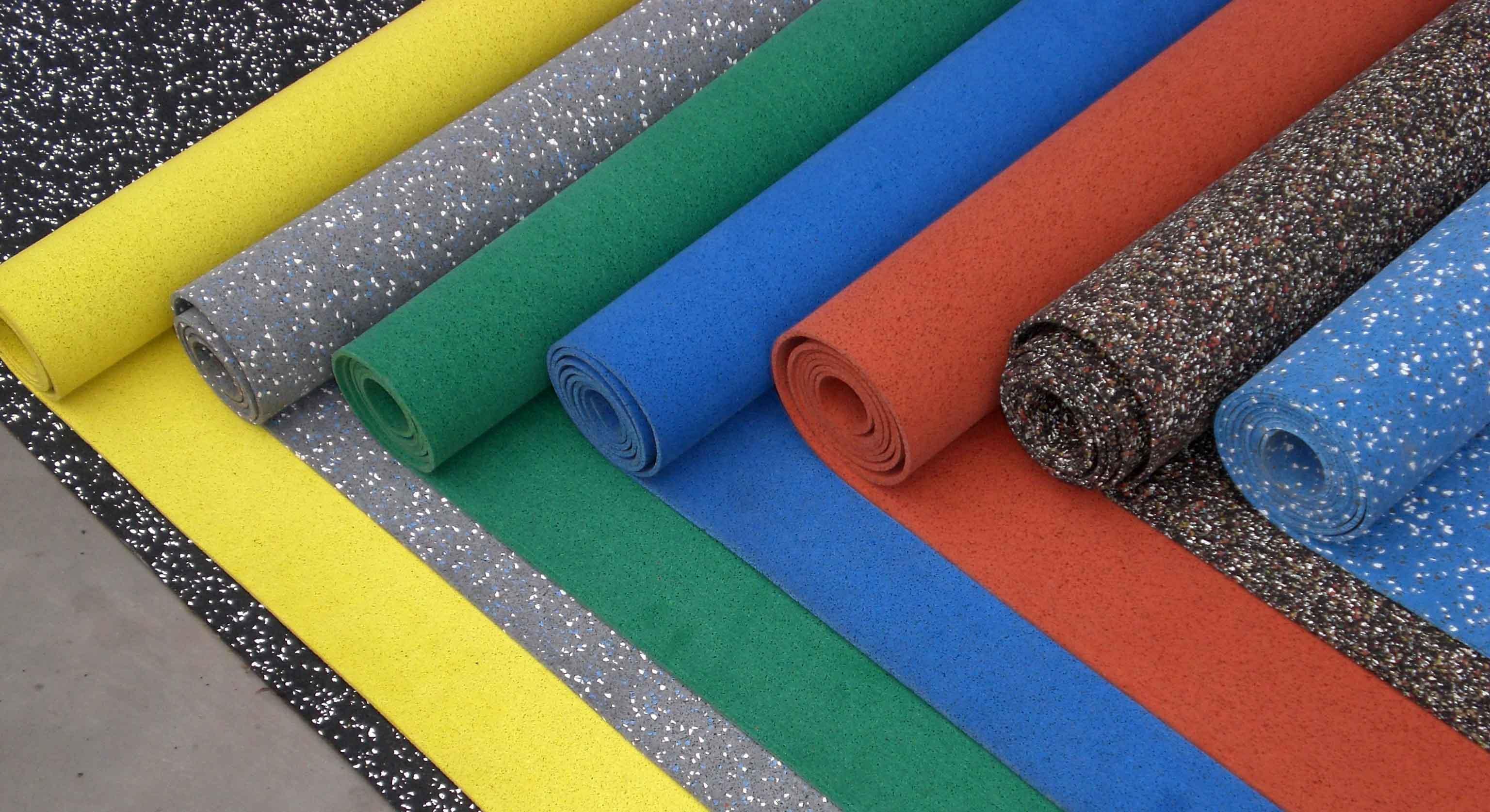 Резиновое покрытие для спортивного зала: преимущества